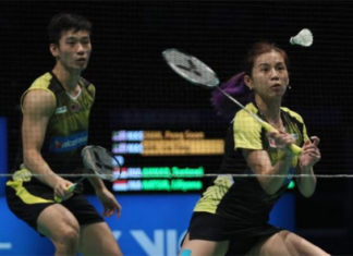 Chan Peng Soon/Goh Liu Ying enter the Malaysia Masters quarter-finals. (photo: AP)