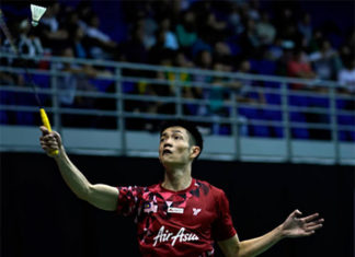 Daren Liew heads towards the semi-final of Malaysia Master with very little pressure resting on his shoulders. (photo: AP)