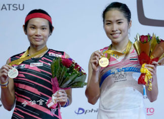 Ratchanok Intanon stuns Tai Tzu Ying to win the 2018 Malaysia Masters title. (photo: AP)