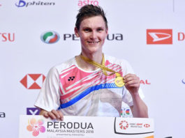 Viktor Axelsen is creating his own legacy in badminton. (photo: AP)