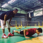Misbun Sidek on lookout for 'right fit' for the Malaysian Thomas Cup team. (photo: Bernama)