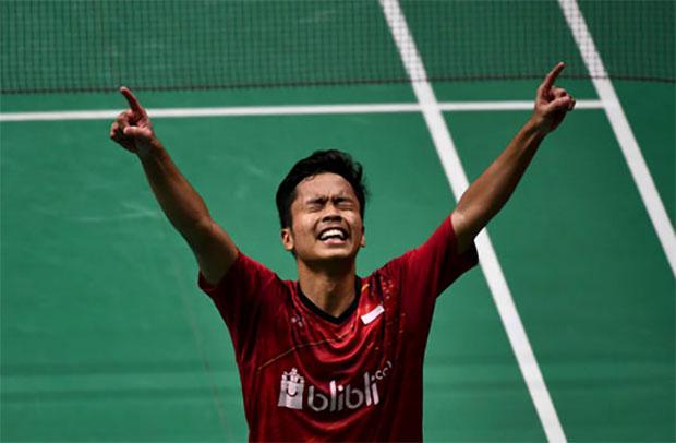 Anthony Ginting to face Kazumasa Sakai in Indonesia ...