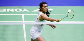 PV Sindhu has strong start in 1st round of India Open. (photo: AP)