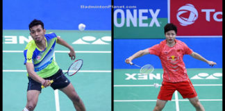 Iskandar Zulkarnain and Shi Yuqi put on a good show in the 2018 India Open semi-finals.
