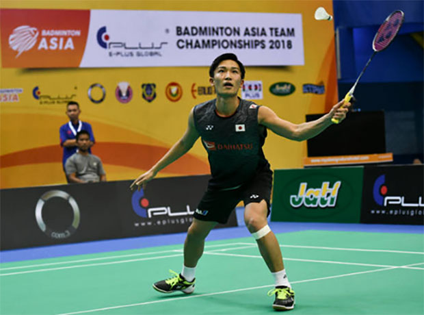 A lot of fans came from all over Malaysia to watch Kento Momota in action. (photo: AP)