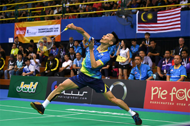 Lee Chong Wei could meet Angus NG Ka Long of Hong Kong in the BATC quarters. (photo: AP)