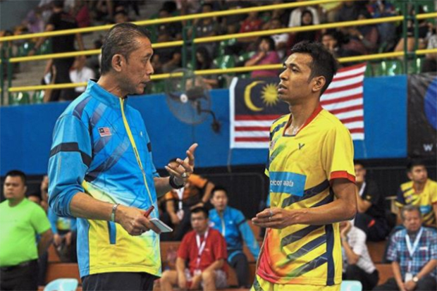 Misbun Sidek was hoping his shuttlers can do well at Swiss Open. (photo: Bernama)