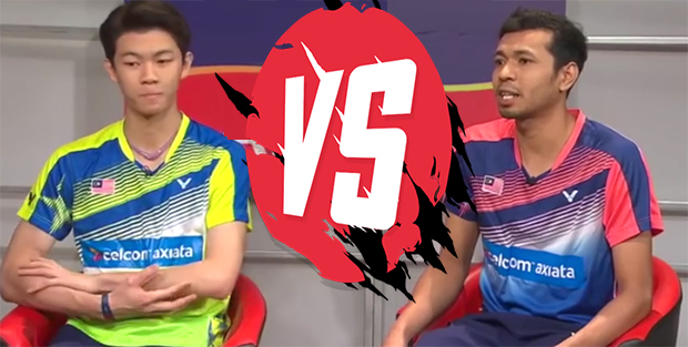 Lee Zii Jia and Iskandar Zulkarnain Zainuddin are going against each other in the 2018 Malaysia National Championships final.