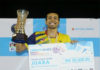 Iskandar Zulkarnain wins his second Malaysia national championships. (photo: NSTP)