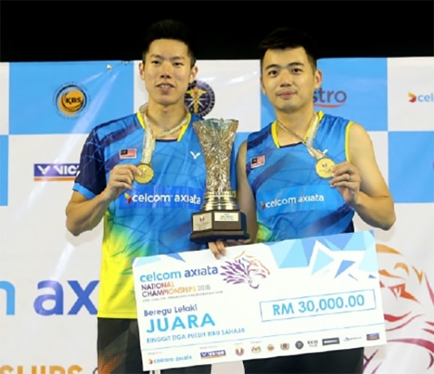 Next up for Goh V Shem/Tan Wee Kiong will be the 2018 All England. (photo: NSTP)