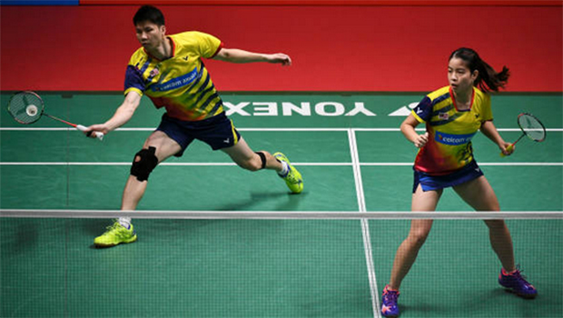 Goh Soon Huat/Shevon Lai are heading for a breakthrough in 2018. (photo: AP)