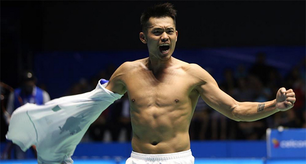 Lin Dan is unhappy with BWF's new service rule.