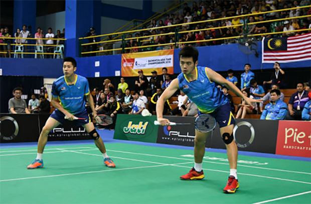Goh V Shem/Tan Wee Kiong advance to German Open semi-finals.