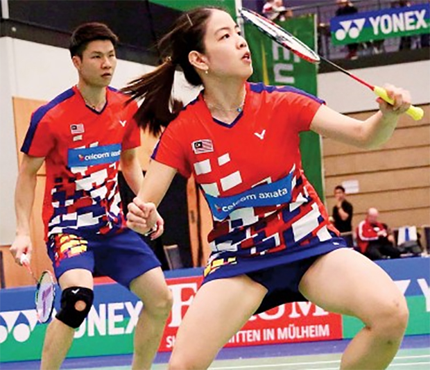 Goh Soon Huat/Shevon Jemie Lai are going strong at German Open. (photo: AP)
