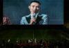 Lee Chong Wei talks to the 20k fans. (photo: Bernama)