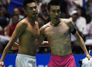Lee Chong Wei and Lin Dan to set up another epic battle in the 2018 All England quarter-finals. (photo: AP)