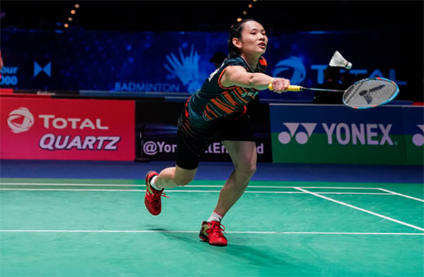 Tai Tzu Ying races into All England final. (photo: AP)