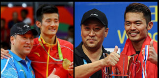 Li Yongbo is the main underlying force behind success of Chen Long, and Lin Dan.