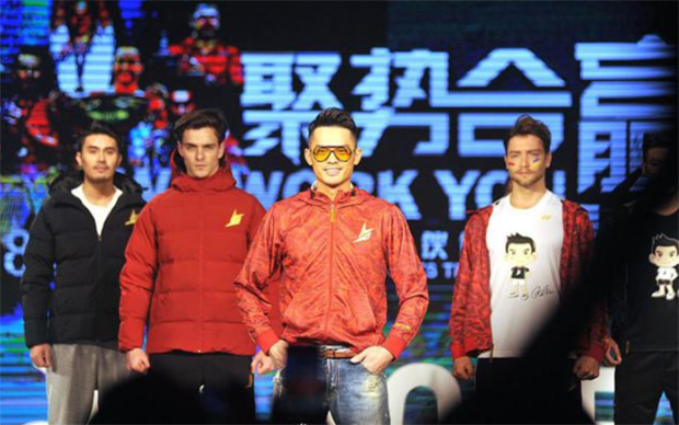 Lin Dan looks cool in the new Yonex outfit.