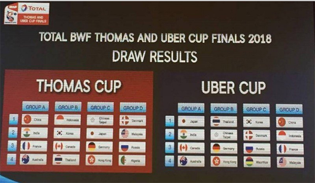 Malaysia could at least advance to the Thomas Cup quarter-finals.