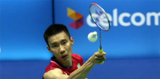 Lee Chong Wei faces tough challenge from Indian players in Gold Coast. (photo: AP)