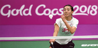 Michelle Li remains optimistic for Gold Coast. (photo: AP)