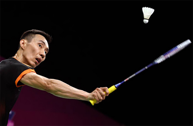 Lee Chong Wei faces tough match either against Kidambi Srikanth or HS Prannoy in the 2018 Commonwealth Games mixed team final. (photo: AP)