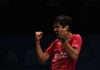 Congratulations to Kidambi Srikanth of becoming the World No. 1 men's singles player. (photo: AP)