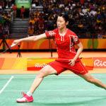 Li Xuerui continues her winning streak at the 2018 Lingshui China Masters. (photo: AP)