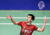 Chong Wei Feng is Malaysia's sole representative at the 2018 China Masters. (photo: AP)