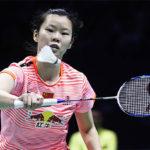 Li Xuerui continues her hot form in Lingshui China Masters. (photo: AP)