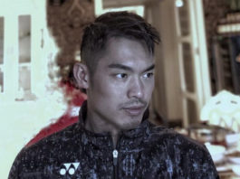Lin Dan looks slick with short new hairstyles. (photo: Ricky - Weibo)