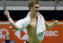 Viktor Axelsen regains the world No. 1 ranking. (photo: AP)