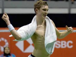 Viktor Axelsen regains the world No. 1 ranking. (photo: AP)