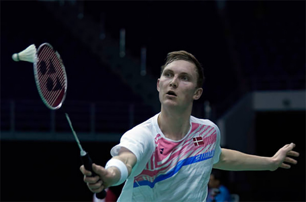 Good to see Viktor Axelsen come back playing badminton again! (photo: AP)