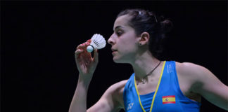 Carolina Marin is looking to win her fourth European Championships title this year. (photo: AP)