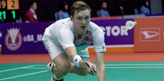 Viktor Axelsen looks to win his second European Championships on Sunday. (photo: AFP)