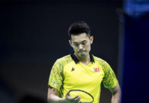Lin Dan looks to find form at New Zealand Open. (photo: AP)