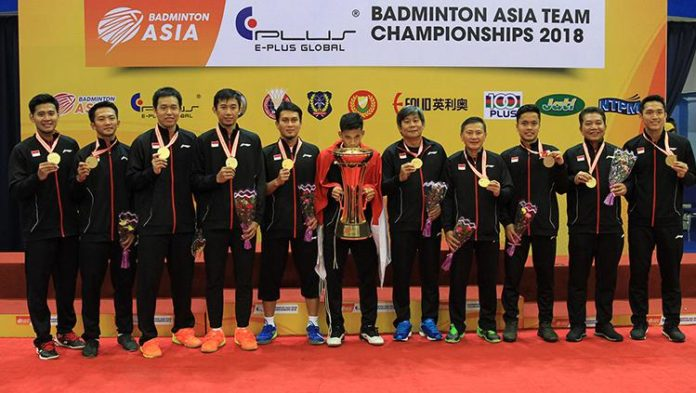 Indonesia has the strongest men's doubles pairs amongst other Thomas Cup teams. (photo: AFP)