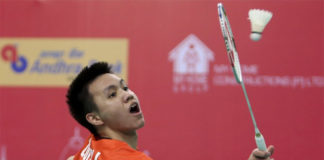 Zulfadli Zulkiffli has been suspended from competing in badminton for 20 years. (photo: AFP)