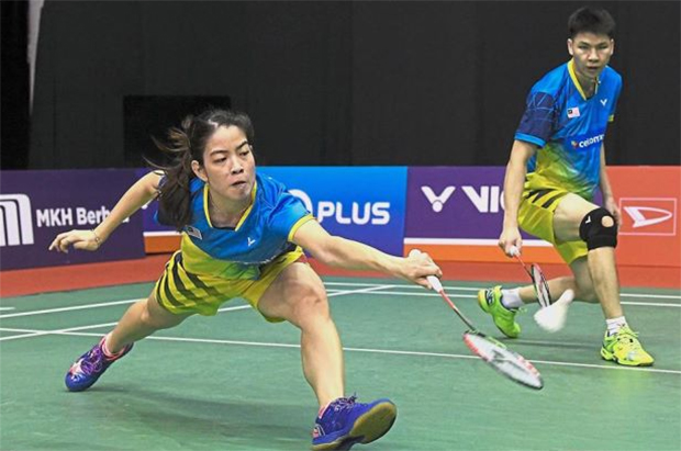 Goh Soon Huat/Shevon Jemie Lai are going strong at the Australian Open. (photo: AFP)