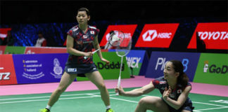 Misaki Matsutomo/Ayaka Takahashi are the strongest women's doubles pair in the 2018 Uber Cup competition. (photo: AP)