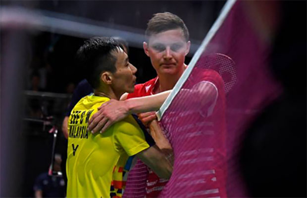 Lee Chong Wei could face Viktor Axelsen in Malaysia Open quarter-final. (photo: AP)