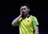 Lin Dan's stunning loss leaves the US Open tournament wide open. (photo: AP)
