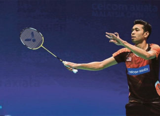 Iskandar Zulkarnain has been caught smoking in a hotel during the Thomas Cup Finals in Bangkok. (photo: Bernama)