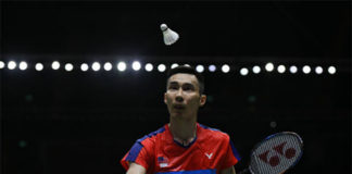 Lee Chong Wei handed challenging draw at Malaysia Open. (photo: Bernama)