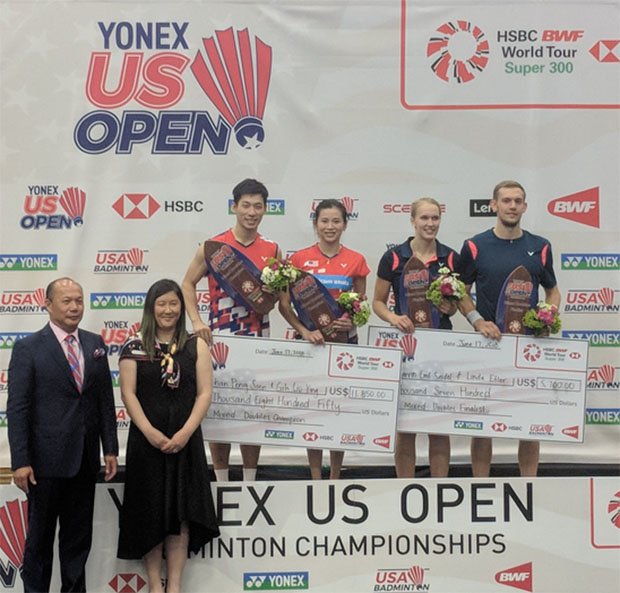 Chan Peng Soon/Goh Liu Ying are going to have to up their game at Malaysia Open and the Asian Games. (photo: USA Badminton)