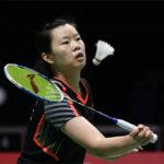 Li Xuerui fires up to win the 2018 Canada Open. (photo: AP)