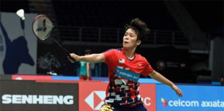 Goh Jin Wei appears to regain her form at Malaysia Open. (photo: Bernama)