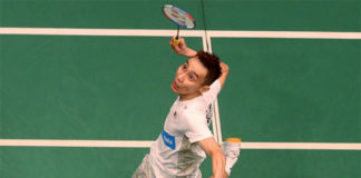 Lee Chong Wei sets up a mouth-watering clash with Viktor Axelsen in the Malaysia Open quarter-finals. (photo: Bernama)